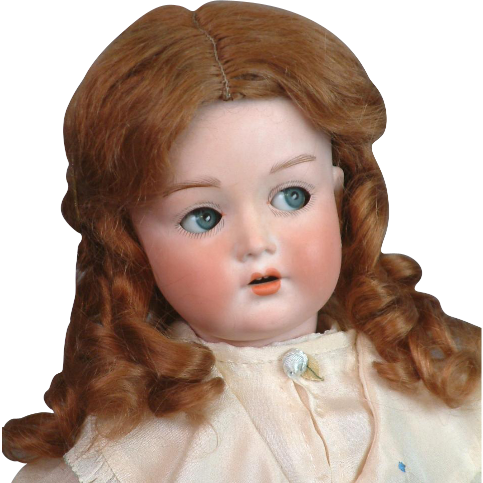 "18"" Cuno & Otto Dressel 'Mein Liebling' on Original Teen-Aged Body with Flirty Eyes!"