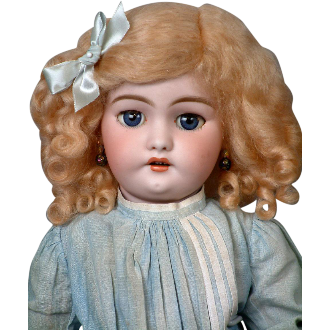 *Golden Angel* Simon & Halbig 1039 Antique Bisque Doll 18""