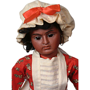 "*Expressive Beauty* Bahr & Proschild ""Scowling"" 244 Native American Antique Doll 14"""