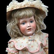 "20"" Kestner 241 Toddler Known as Hilda's Big Sister on Rare Original Kestner Short-Thigh Toddler Body"
