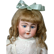 "Simon & Halbig 1009 20"" Antique Bisque Doll in Antique Costume"