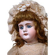 "*Rare* Simon & Halbig 979 Antique Bisque Doll 19"" on Rare Original Schmitt-Type Early Body"