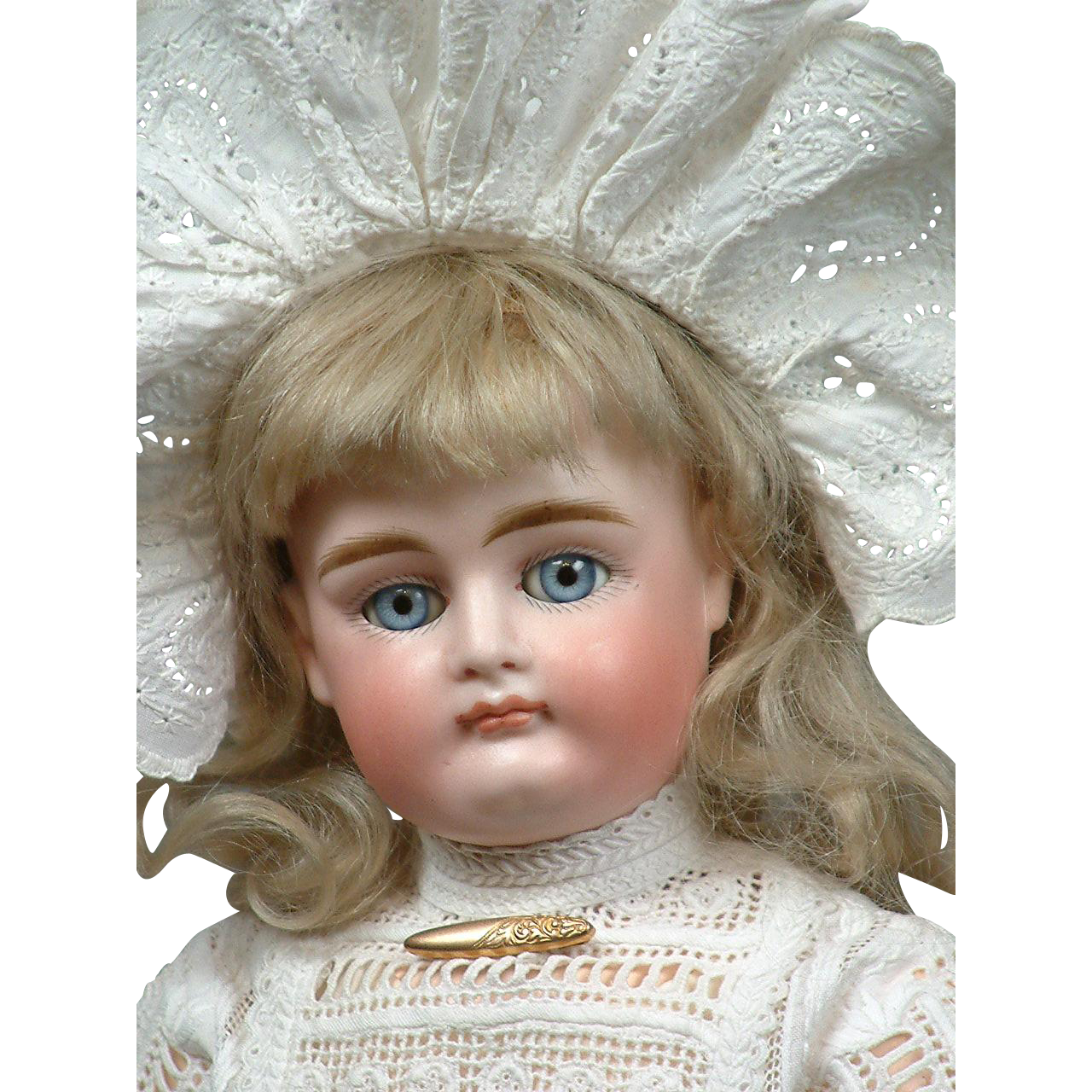 "13""  Extreme Pouty-Faced XII Kestner All Original Bebe With Early Kestner Body --Fabulous Condition & Presentation! WoW!"