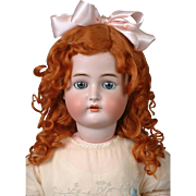 "*Gingersnaps* Kammer & Reinhardt / Simon & Halbig 29"" Antique Doll with Blue Eyes"