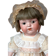 "*The Cutest* Edmund Edelmann Antique Character ""Melitta"" Doll 17.5"""