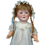"17"" Princess Elizabeth Child Portrait by Schoenau & Hoffmeister Rare Character Doll--So Sweet!"