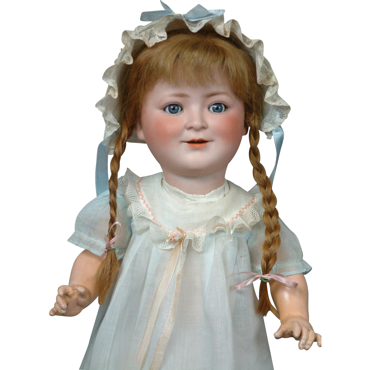 "17"" Princess Elizabeth Child Portrait by Schoenau & Hoffmeister Rare Character Doll--So Sweet!"