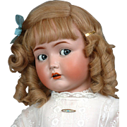 "Fabulous 117n  28"" Mein Liebling Flirty Doll by Kammer & Reinhardt circa 1920 With High Knee Teen Body!  Just WoW!"