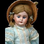 """*Precious* Bahr & Proschild-Attributed Antique Bisque Doll on Sonnenberg Body 15"""""""