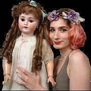 "32"" HUGE ""Sweet Nell"" by Alt Beck & Gottschalk—Lovely German Antique Doll!"