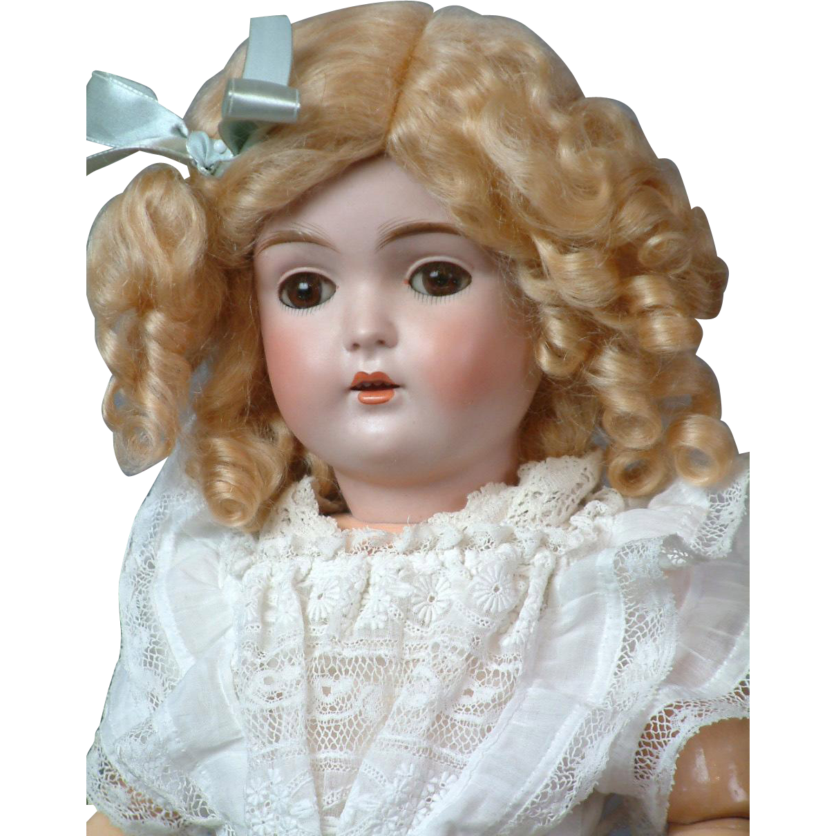 """18""""Antique Kestner 171 Bisque Doll  """"Almost Daisy"""" in Antique Dress"""