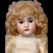 "*Darling* Early Letter Kestner on Fabulous 16"" Toddler Body in Adorable Costume"