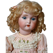 Kammer & Reinhardt / Simon & Halbig Antique Bisque Doll 17""