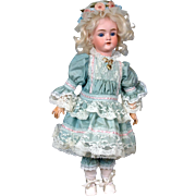 "17"" Antique Precious Walkure Doll by Kestner"