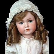"""22.5"""" Kammer & Reinhardt 117 """"Mein Liebling"""" Antique German Character Child Doll circa 1912"""