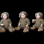 "Rare Simon & Halbig 1428 Character Baby in Impressive 23"" Size"