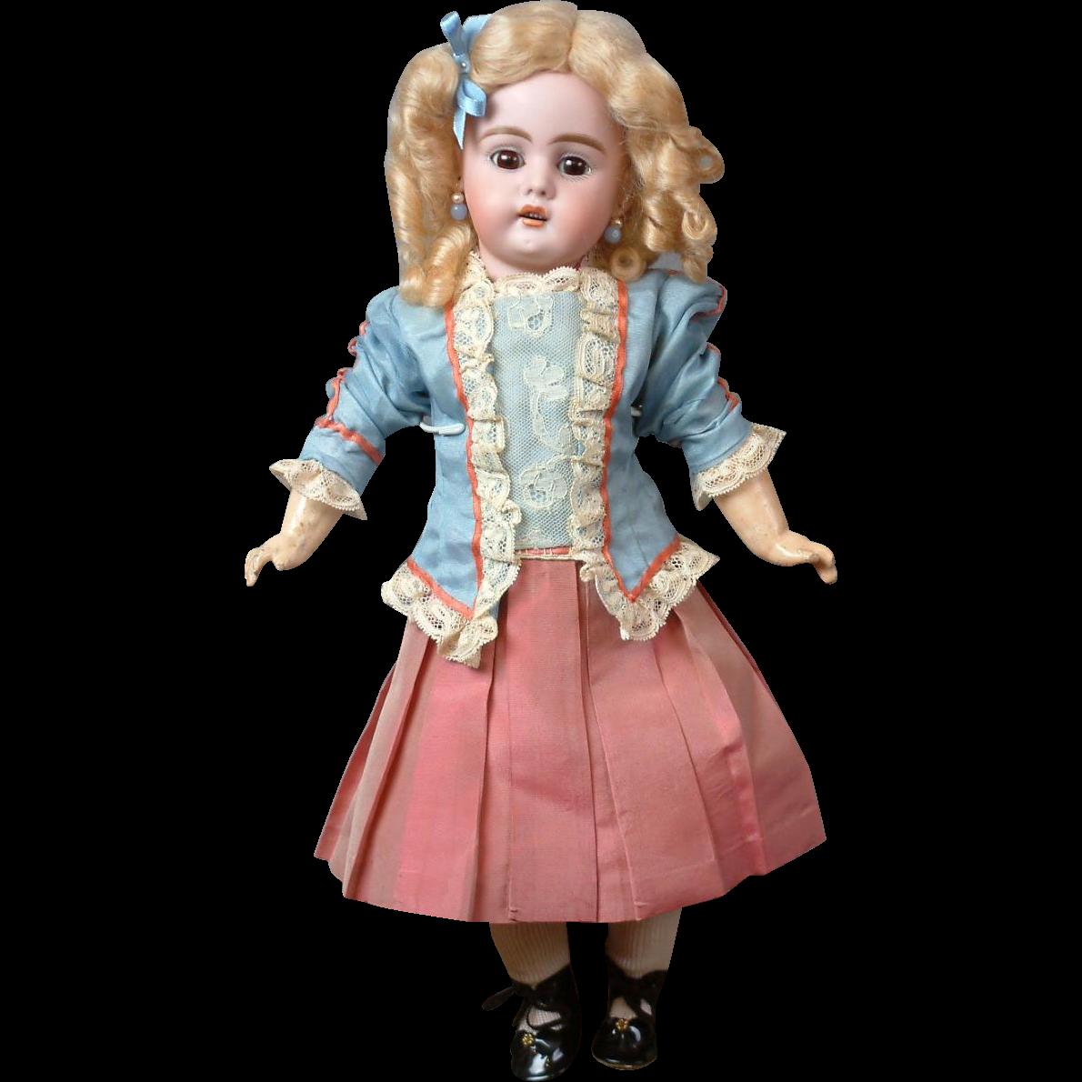 """Delightful Bahr & Proschild 320 Antique Bisque Doll 15"""""""