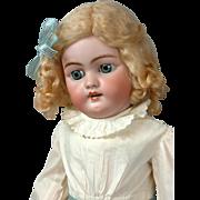 """Sweet 22"""" Antique Heinrich Handwerck 1079 Bisque Doll with Stamped Original Body"""