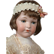 "16"" Rare All Original Armand Marseille 400 Teen Flapper Antique Doll with Closed Mouth"