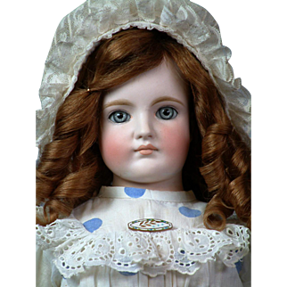 """25"""" Gebruder Kuhnlens Closed-mouth Antique doll   circa 1890"""