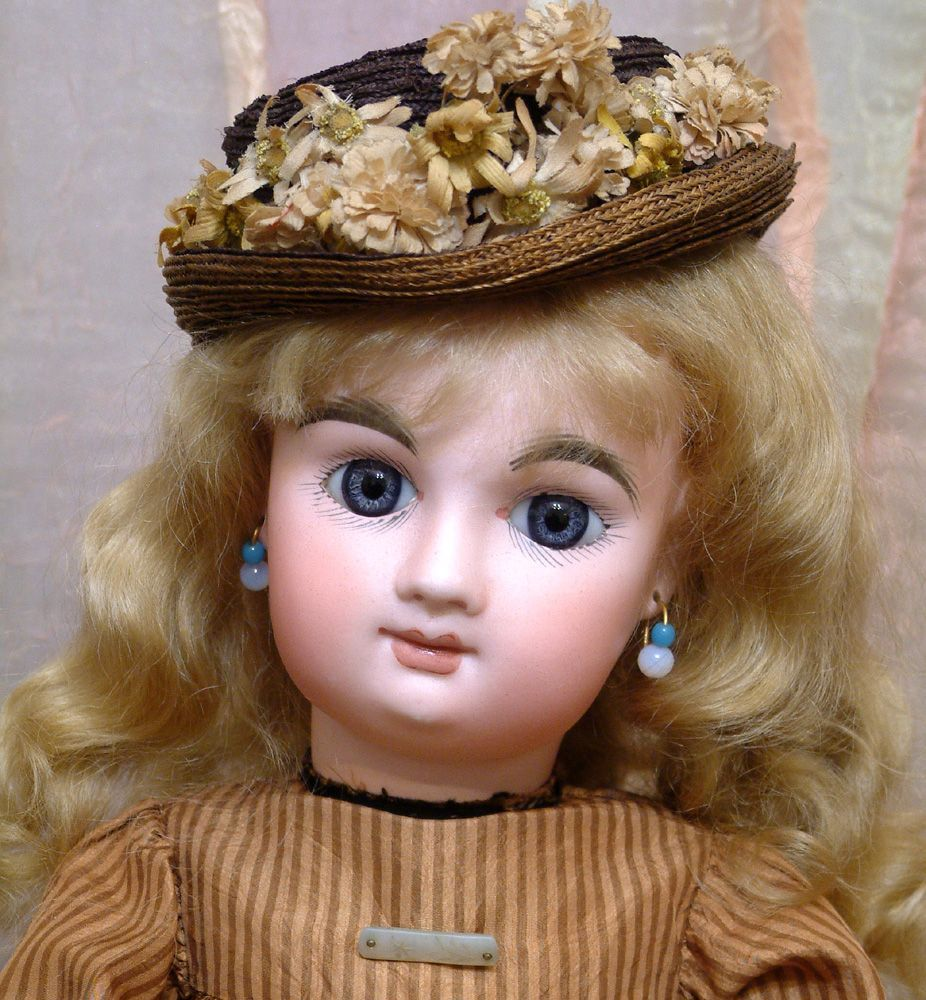 "18"" French Bebe Mascotte All Antique Doll ONE OF A KIND Angel!"