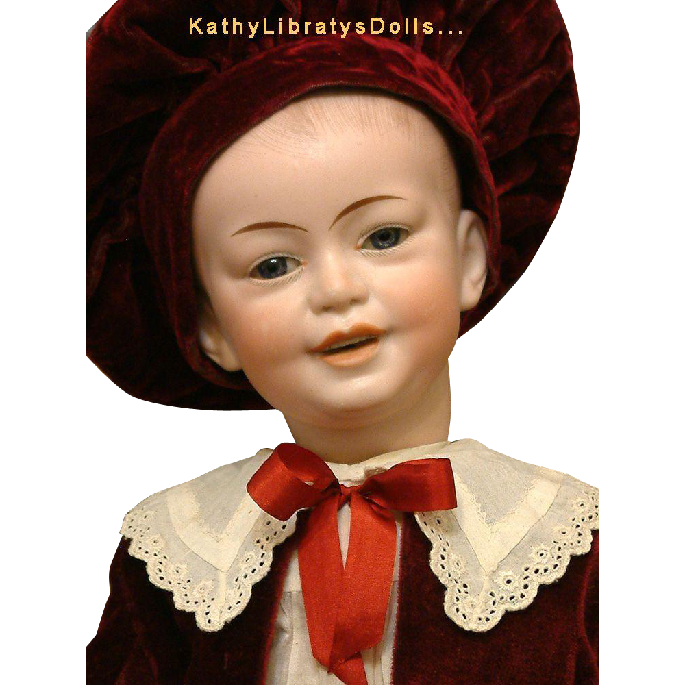 "Extraordinary Frenchman: 20"" SFBJ Doll 227 All Original Antique Character Boy!"