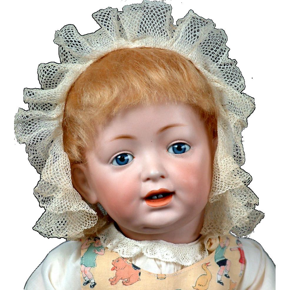 """Beyond Adorable- RARE 22"""" Kestner 'Sammy' 211 Character Toddler Antique Doll"""