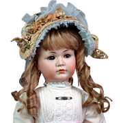 "20.5"" Kammer & Reinhardt 117/A 'Mein Liebling' Closed Mouth All Antique German Character Doll"