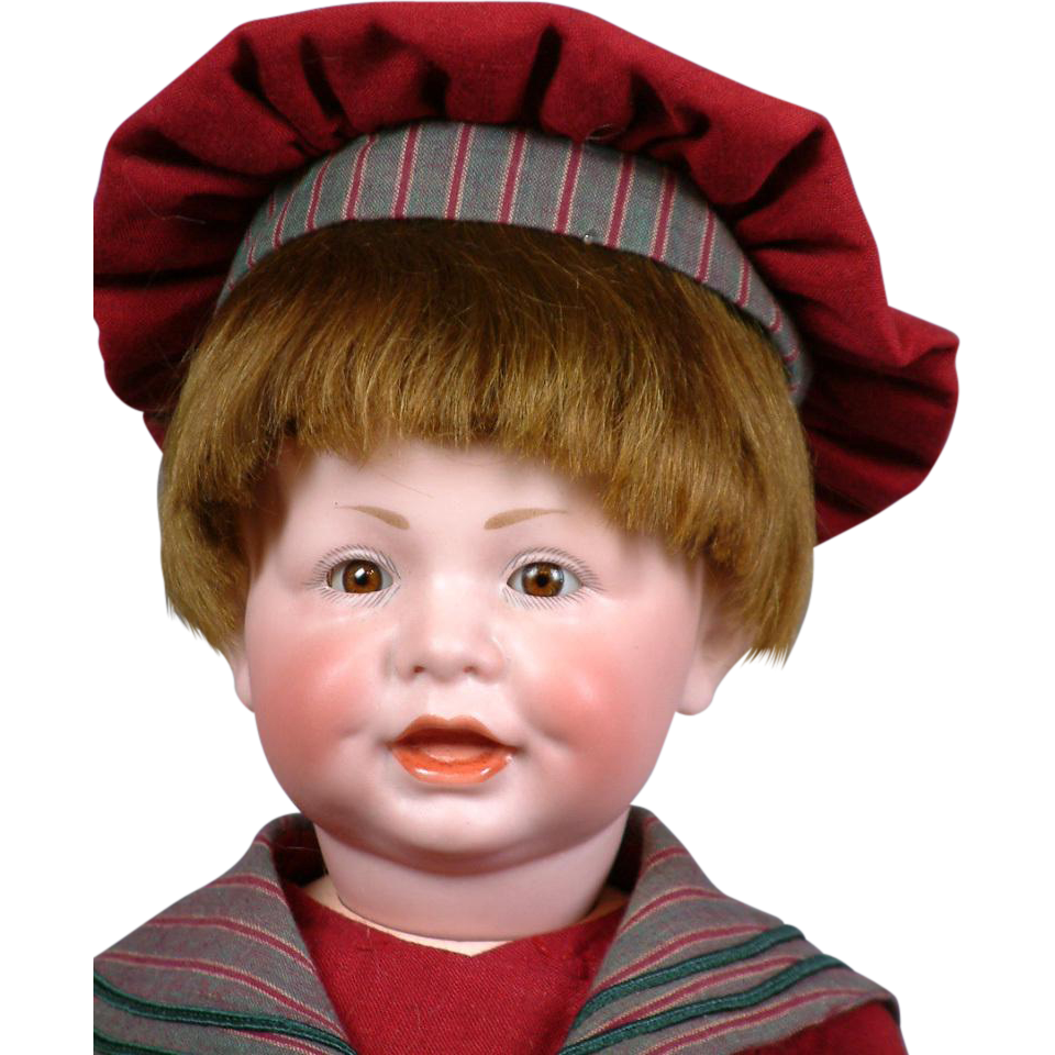 """Superb 18"""" Kammer and Reinhardt 116 Character Toddler Antique Boy Doll"""