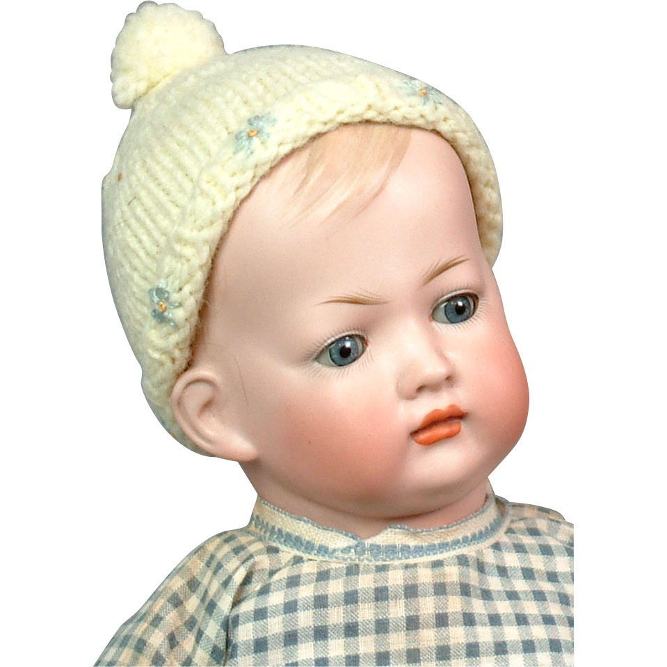 "16"" Rare Kley and Hahn 154 'Tommy Tucker' Pouting Character Boy"