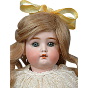 "Adorable 16"" Simon & Halbig 1299 Character Child All Original C. 1912"
