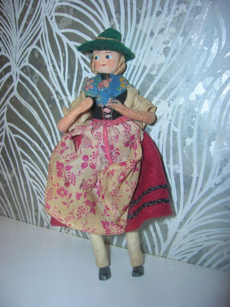 Vintage German BAPS Ethic Lady Doll