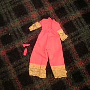 "Vintage Mattel 1970-71 Francie ""Entertainer"" #1763 Outfit - Red Tag Sale Item"