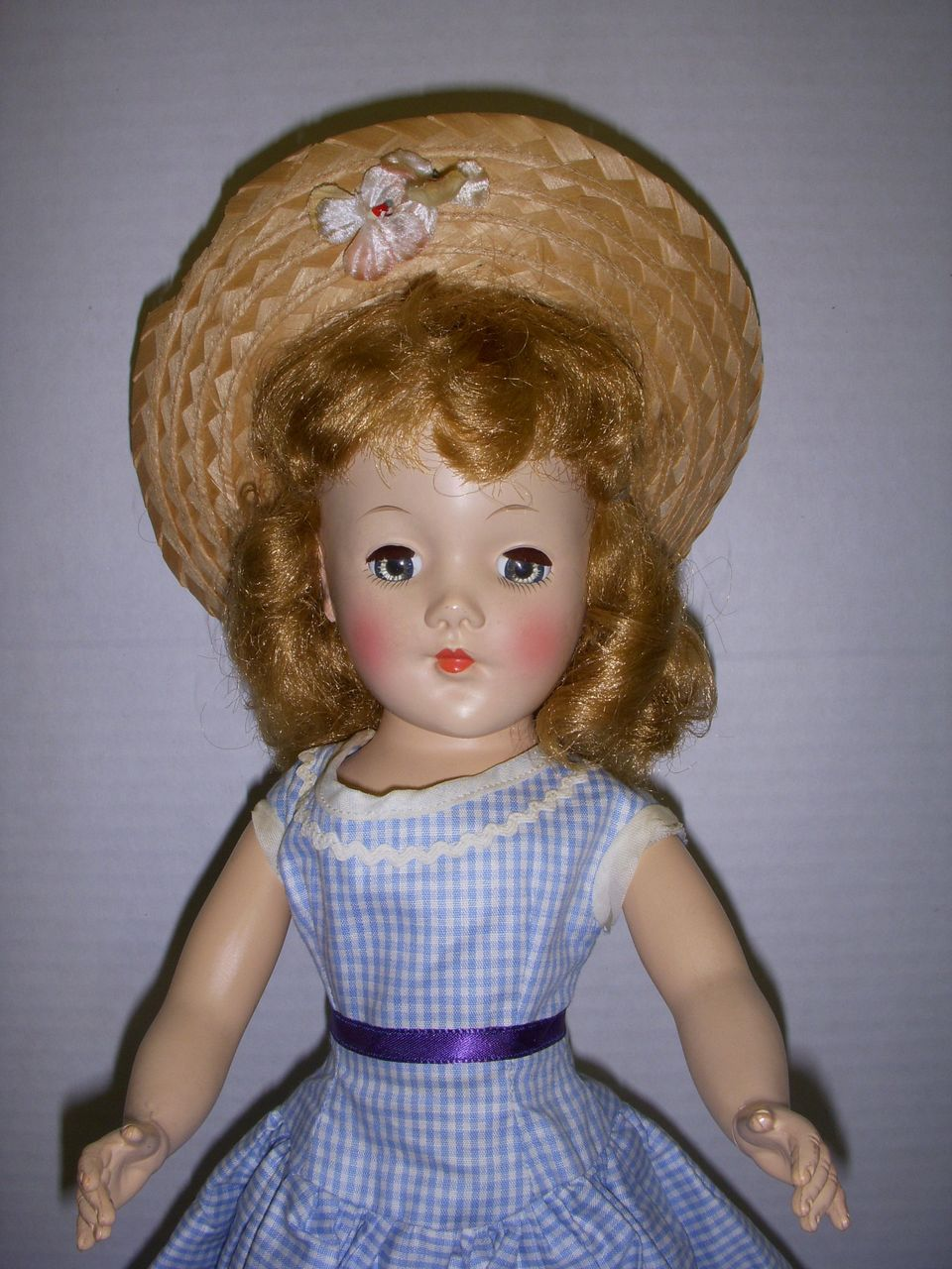 Vintage 1950s Richwood Cindy Lou Doll All Original!