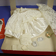 1950s Ginger Boxed Tagged Bridal Set!