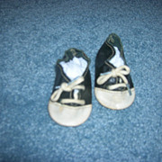 Vintage Doll Saddle Shoes