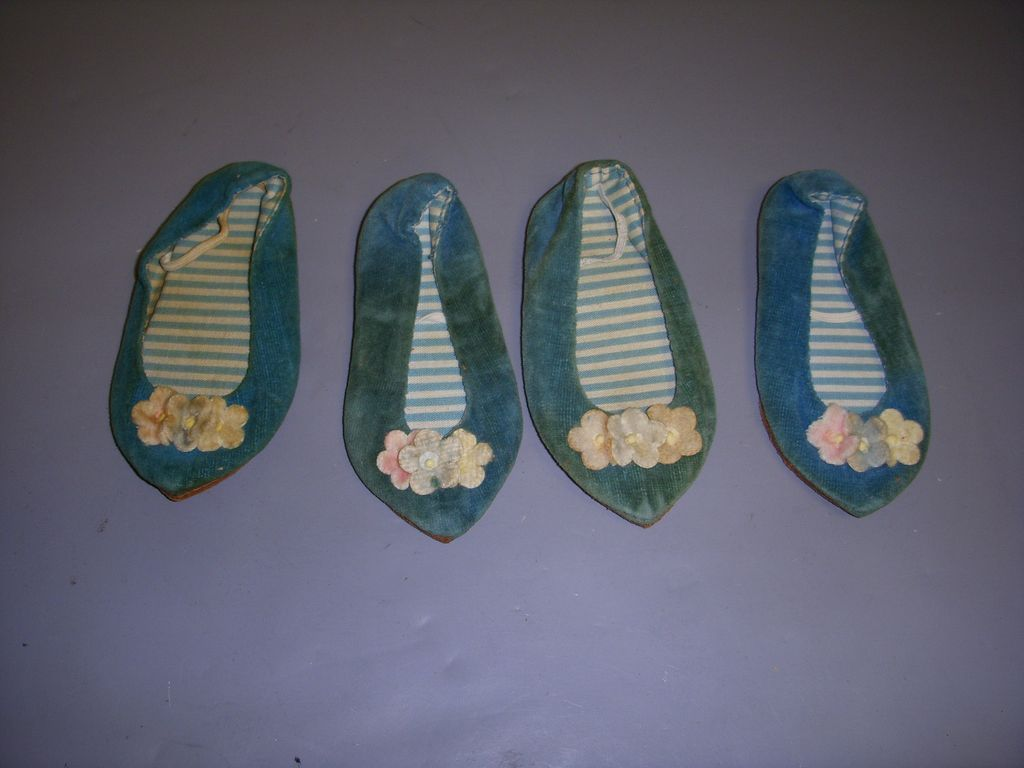Vintage Mattel Chatty Cathy Shoes - 2 Pairs!