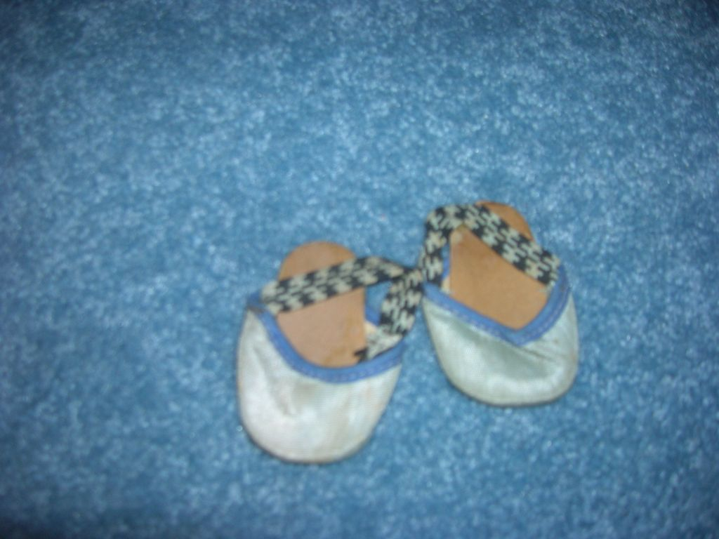 Vintage Doll Shoes/Slippers