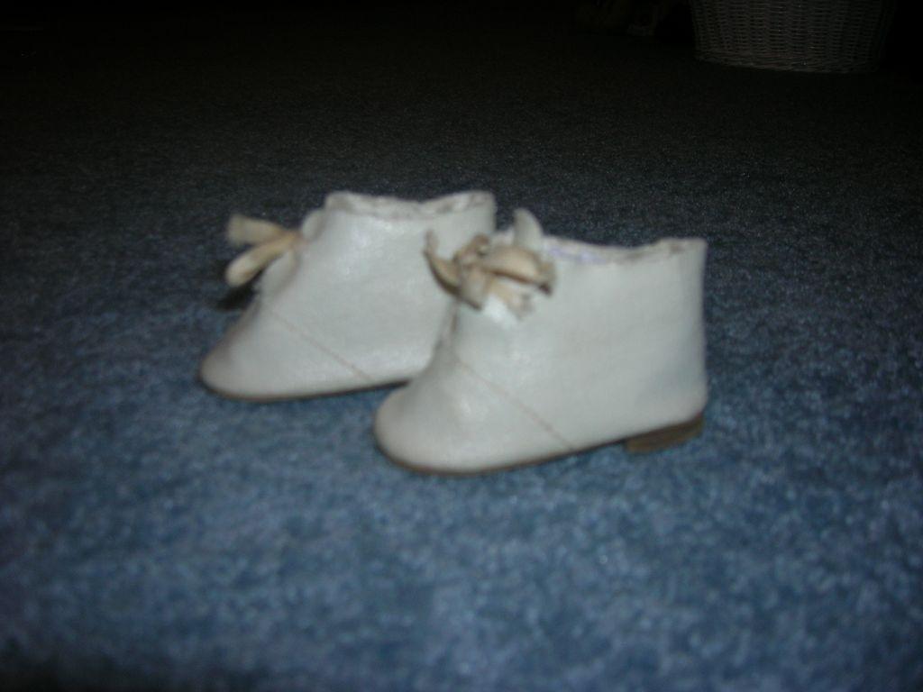 Vintage Tie Doll Shoes