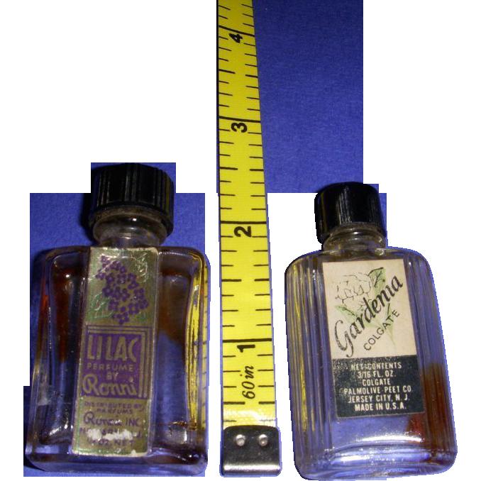 Vintage Mini Perfume Bottles 73
