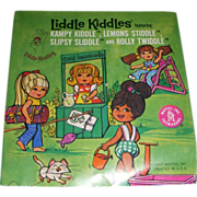 "Mattel Liddle Kiddles ""Kampy Kiddle, Lemons Stiddle, Slipsy Sliddle & Rolly Twiddle"" Original Booklet!"