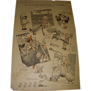 "Vintage 1921 Charles Twelvetrees ""Kiddies Down On The Farm"" Magazine Memorabilia!"