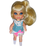 "1960s Mattel Liddle Kiddles ""Suki Skediddle"" Doll!"