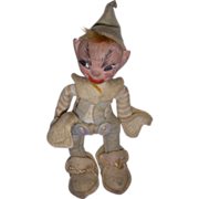 Vintage HTF 1940's Holiday House Jump Jump Elf!