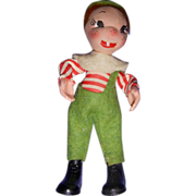 Vintage HTF Holiday House Wee Whimsie/Jump Jump Doll!
