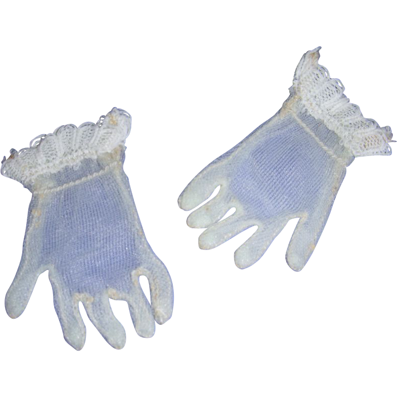 Vintage HTF 1950's Pair of Cissy Pale Pastel Green Gloves!