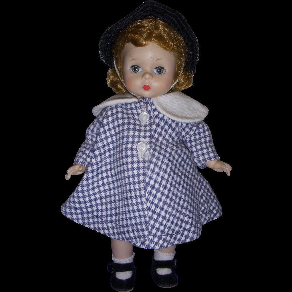 Vintage 1950s Alexander-kin Doll in Original Outfit!