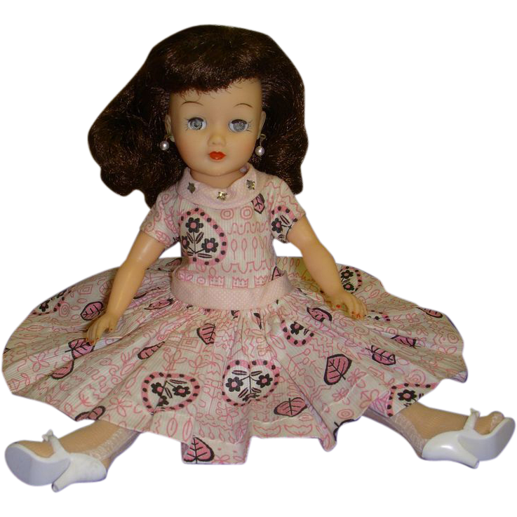 Vintage 1950s Little Miss Revlon Doll All Original From