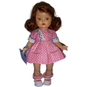 Vintage 1950s Muffie Doll Original Outfit!