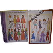 2 Vintage Doll Patterns for Barbie & Other Fashion Dolls!
